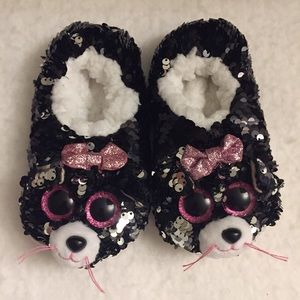 Ty sequins animal slippers